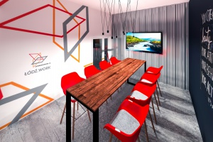 Tak będzie wyglądała jedyna taka przestrzeń dla start-upów w Łodzi