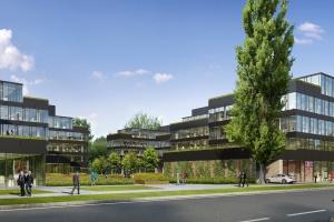 Warszawski biurowiec projektu JEMS Architekci na finiszu