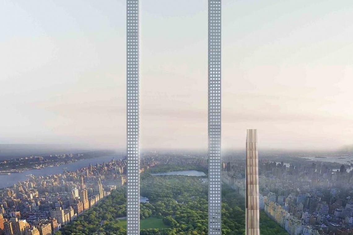 Oto... najdłuższy wieżowiec świata!
