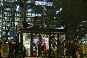 Nowoczesne technologie i... wymienialnia roślin na warszawskiej Woli