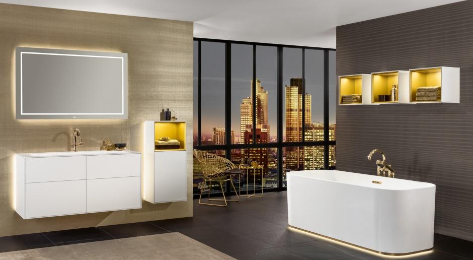 Mieszaj i łącz – modułowe meble do łazienki