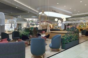 Designerska przestrzeń chillout i nowoczesne technologie. Tak się zmienia CH Auchan Hetmańska