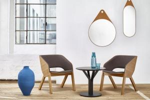 Fotel idealny do hotelowego i biurowego lobby