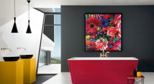 W stronę barw. Kolorowa łazienka