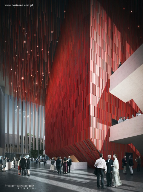 Architekci z Horizone Studio nie wygrali, ale ich projekt robi wrażenie