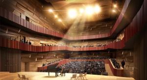 Ogród muzyczny, uczelnia i kampus. Projekt Horizone Studio robi wrażenie