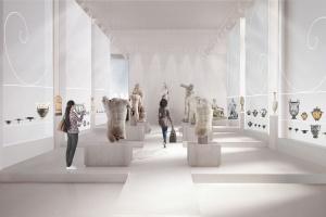 Nowa Galeria Sztuki Starożytnej w warszawskim Muzeum Narodowym spod kreski Nizio Design International