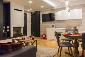 Wnętrza w stylu Aspen. Zobacz apartamenty wakacyjne tuż pod Giewontem