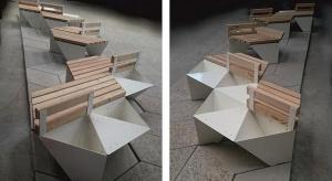 Taki designerski mebel miejski stanął w Gdyni