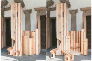 Zbyt dobre, by je marnować. Wyjątkowa drewniana konstrukcja w Mediolanie