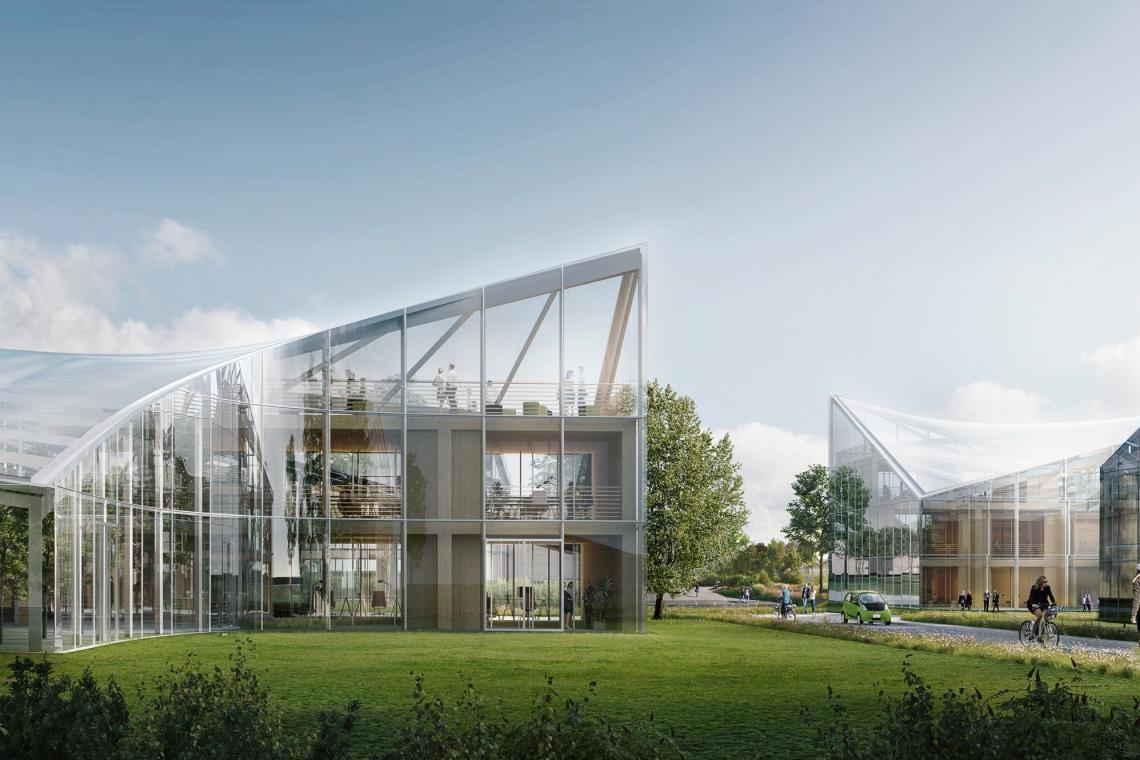 Zielony i innowacyjny. Nowy projekt Zaha Hadid Architects