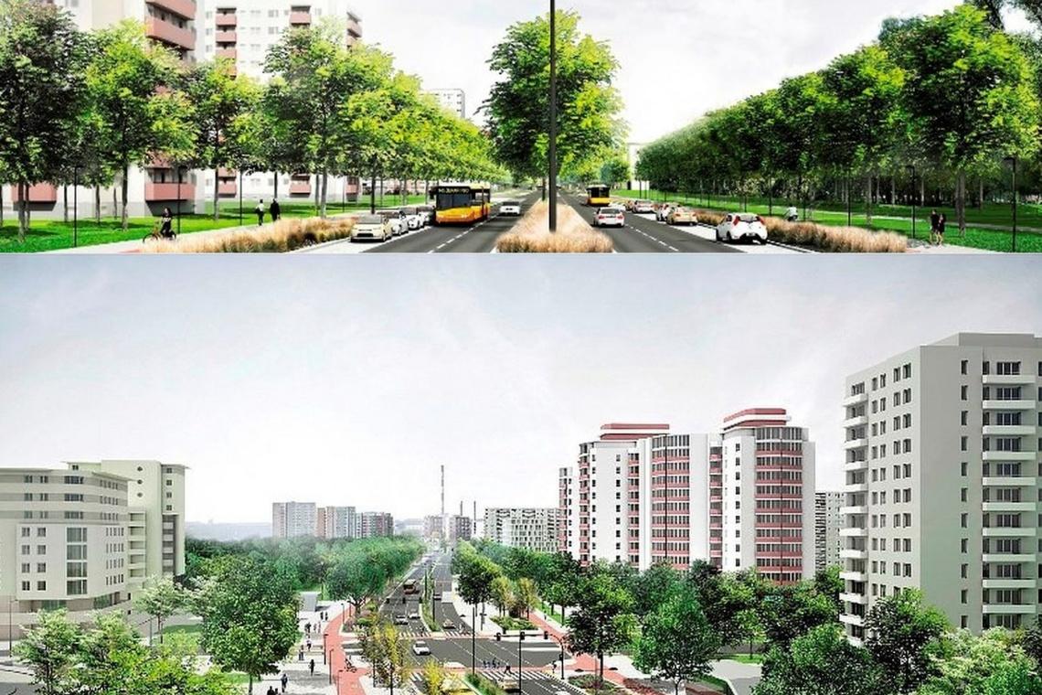 Zielona aleja z prawdziwego zdarzenia. Nowe serce dzielnicy?
