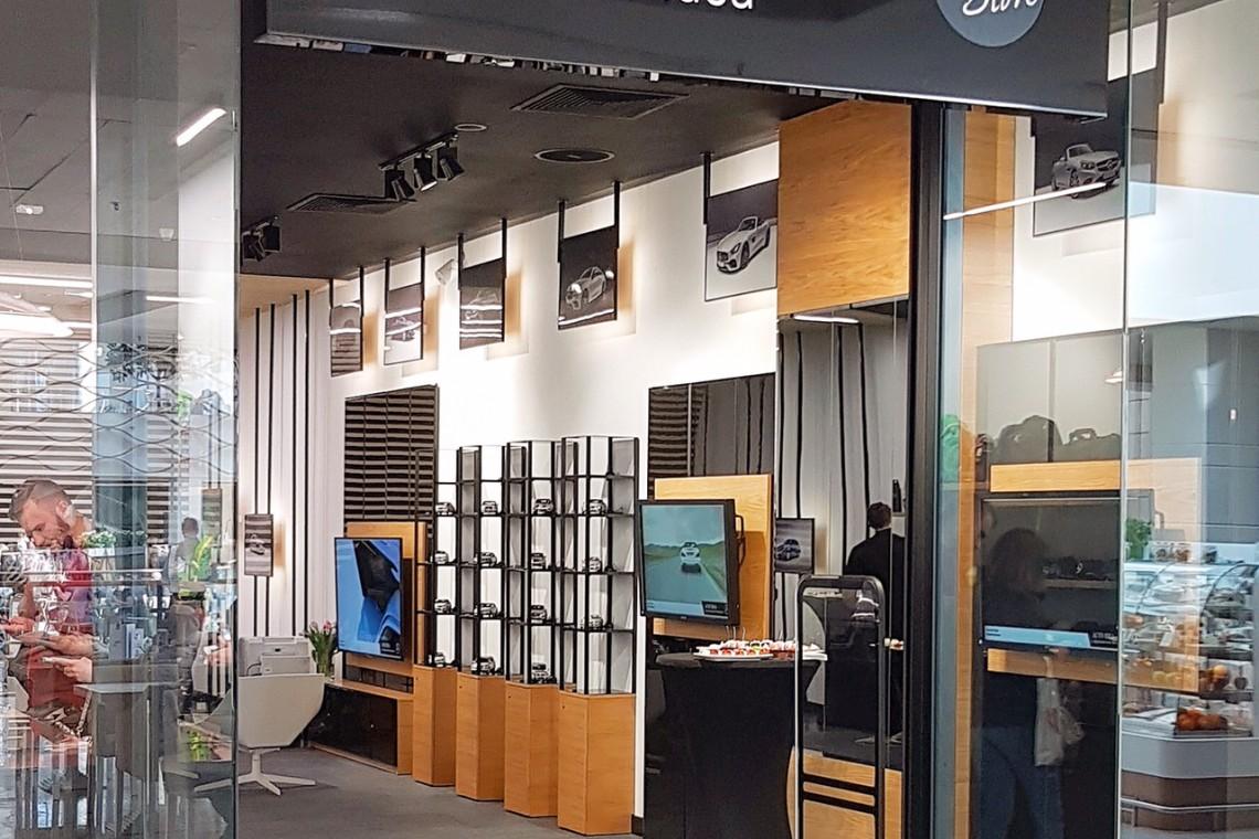 Pierwszy pop-up store Mercedes-Benz w Polsce. Tu poczujesz ducha marki