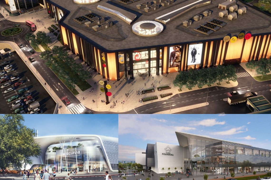 Oto trzy największe projekty handlowe w Polsce. Czym zaskoczą?