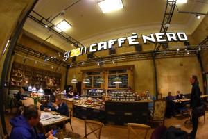 Nowa kawiarnia Green Caffè Nero w Warszawie