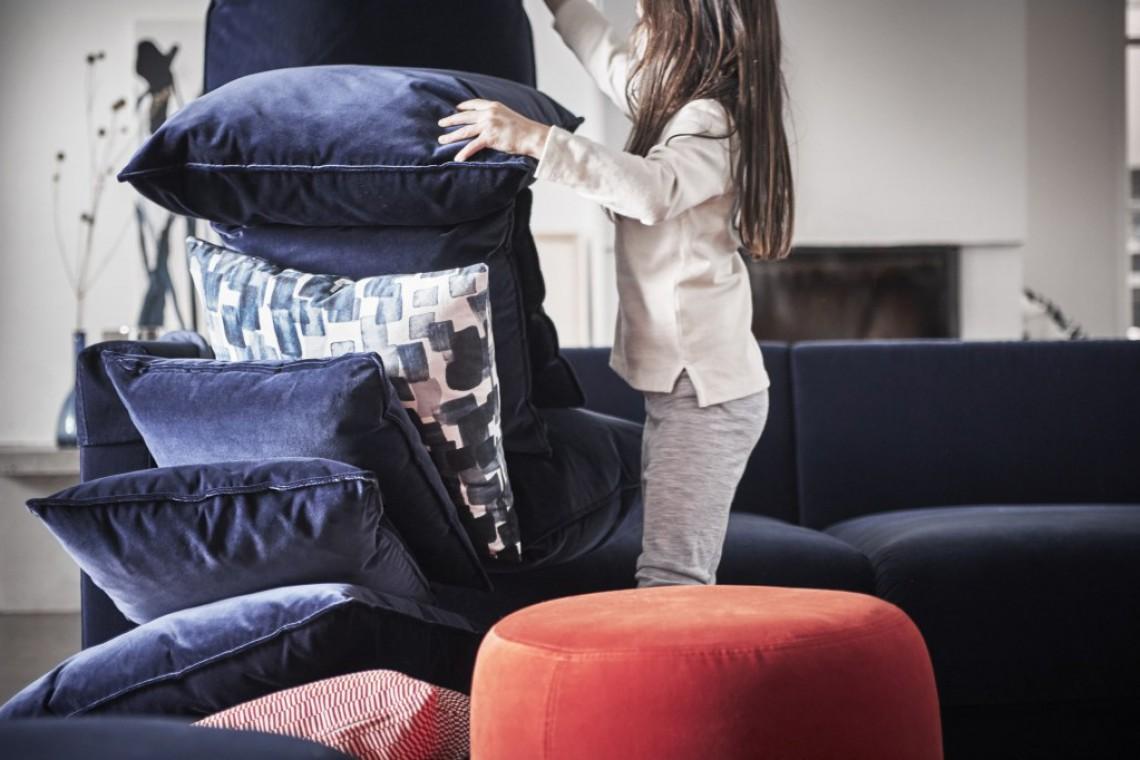 Hanna Dalrot dla IKEA. Kolorystyka, wzory i tkaniny to jej mocna strona