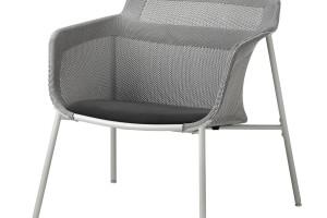 Ten fotel powstał w oparciu o technikę tkania 3D. Design wyróżniony