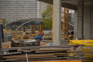 .KTW I: Budynek nabiera (nie)naturalnych kształtów