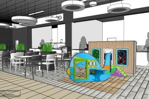 Galeria Tarnovia już z nowym, designerskim food courtem