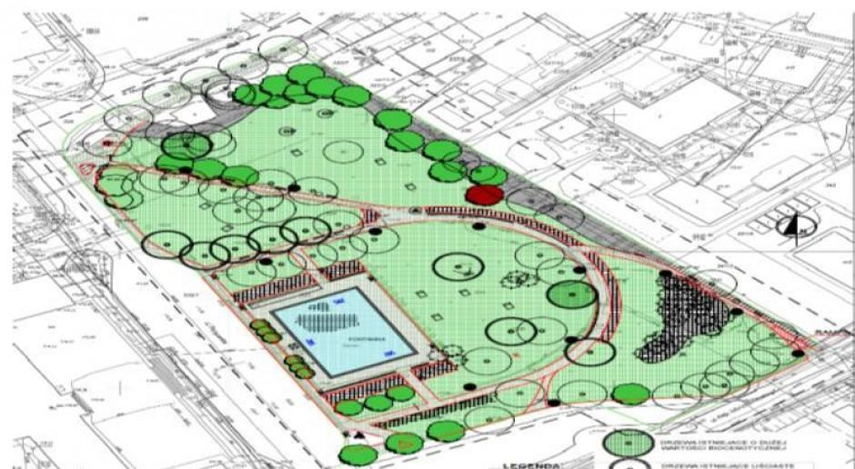 Zielona Góra rewitalizuje park. Otwarcie na jesieni