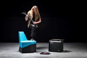 Siedziska w rytmie rocka