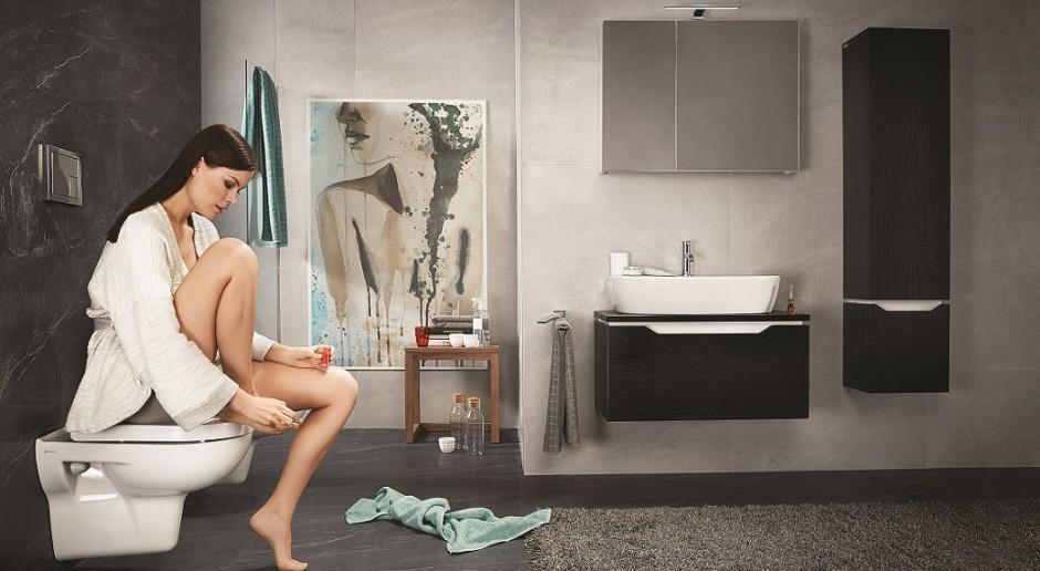 Łazienka pełna kontrastów