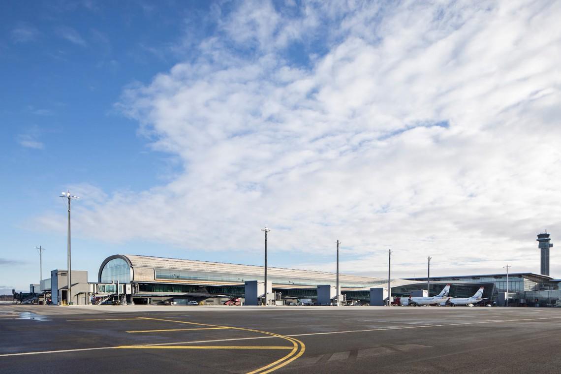 Najbardziej ekologiczny na świecie terminal lotniczy oficjalnie otwarty