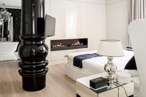 Biokominek daje luksusowy klimat w hotelowych pokojach