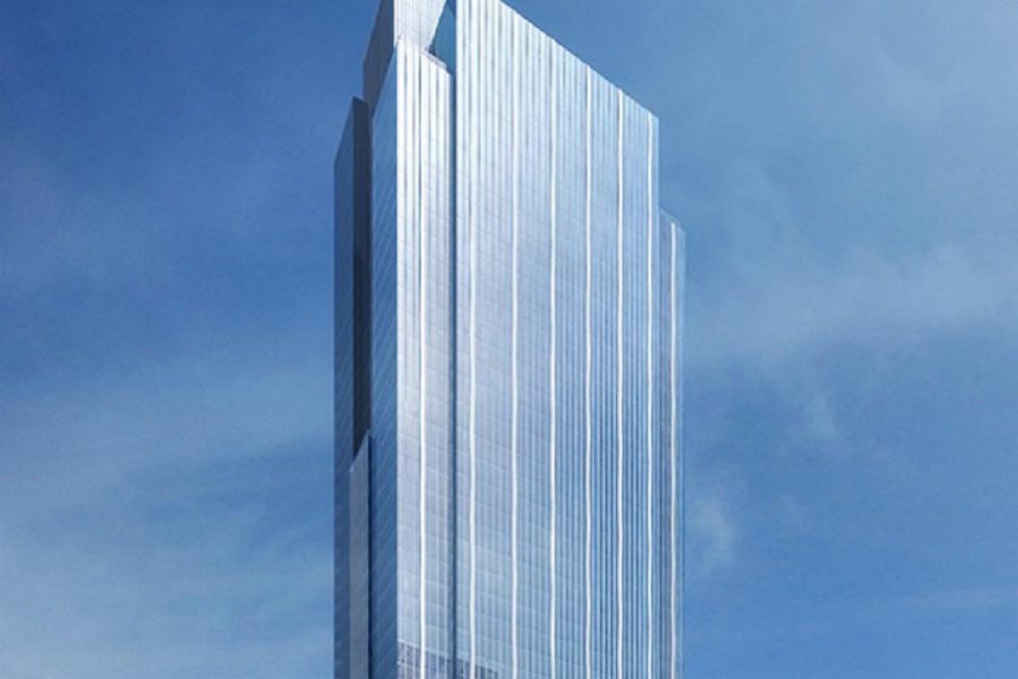 Szklana wieża od Goettsch Partners