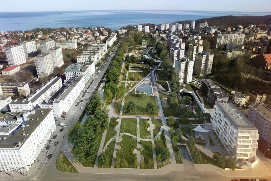 Przetarg na budowę Parku Centralnego w Gdyni