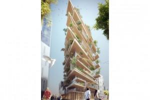 We Francji budują wieżowiec z drewna
