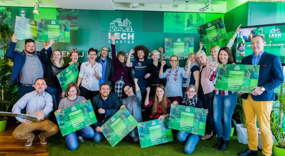 Znamy zwycięskie projekty w programie Lechstarter