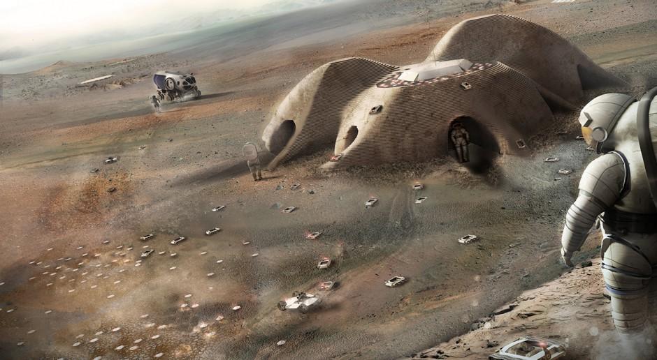 Architekci projektują kosmiczne mieszkania