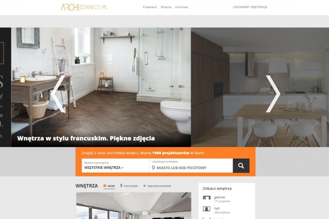 Archiconnect.pl - miejsce dla projektantów już w nowej odsłonie!