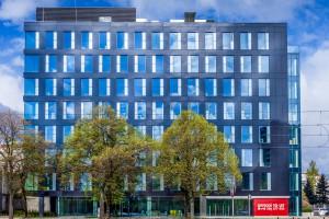 Oto nowy biurowiec w Warszawie - Grójecka 208 projektu Kuryłowicz & Associates