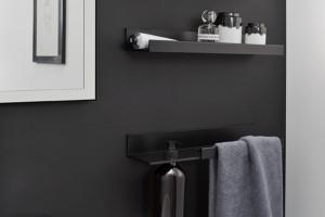 System półek do łazienki. Subtelne wzornictwo spod kreski Wolfganga Hartauera
