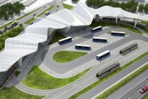 Pod falami - kto wybuduje centrum przesiadkowe w Katowicach?