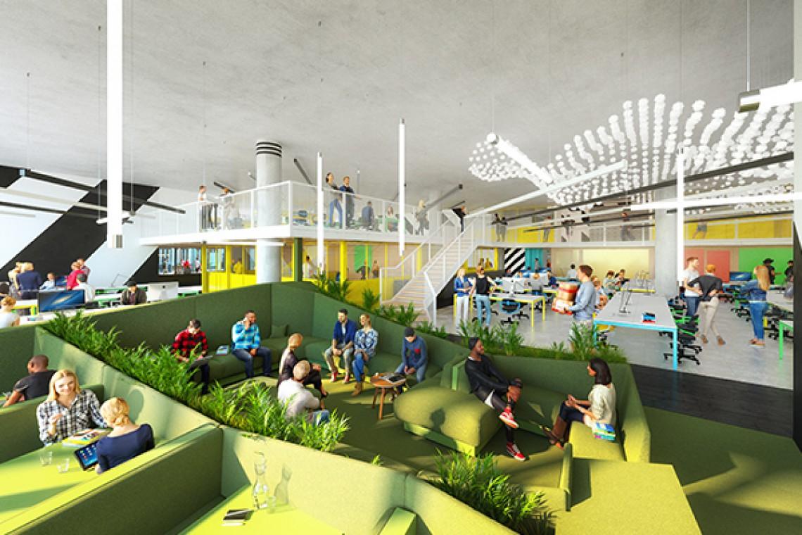 Redefinicja przestrzeni biurowych w stylu RHE