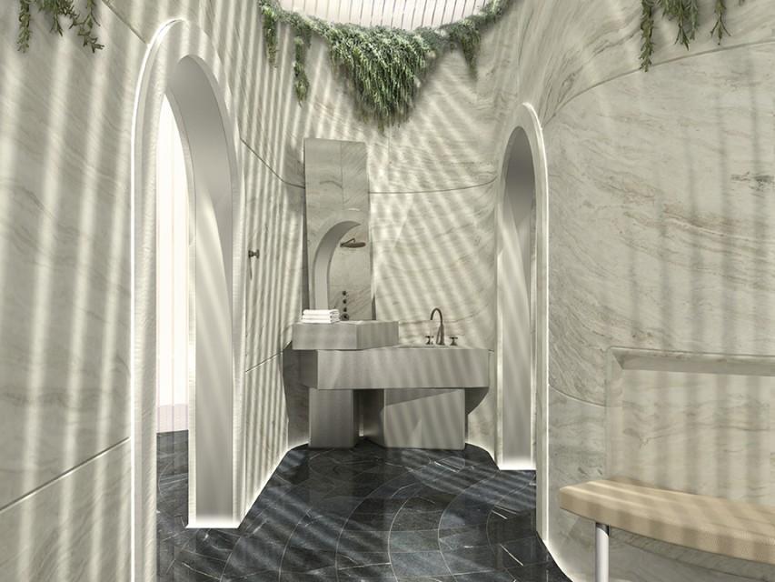 """Styl """"transitional"""" w łazienkach okiem architektów"""
