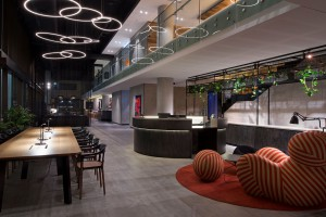 Otwarte przestrzenie w designerskim stylu