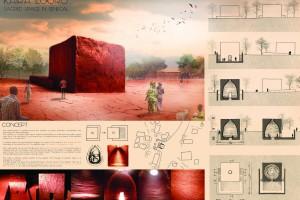 Świątynia dla każdego w Senegalu. Zaprojektowały ją polskie studentki