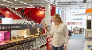 Światło w sklepie staje się interaktywnym narzędziem