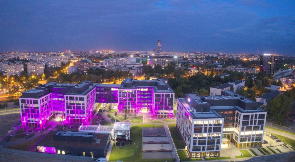 Otwarcie Business Garden Wrocław w blasku sztucznych ogni