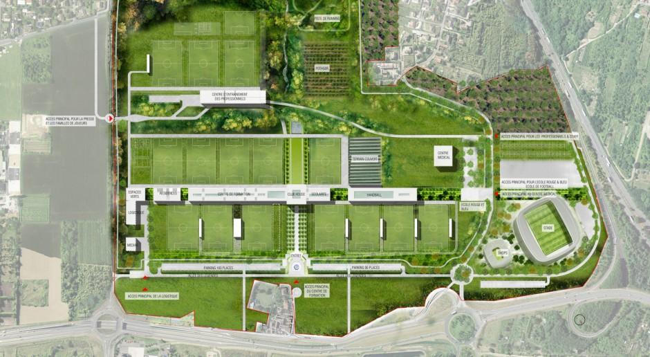 Paris Saint-Germain buduje nowoczesne centrum treningowe