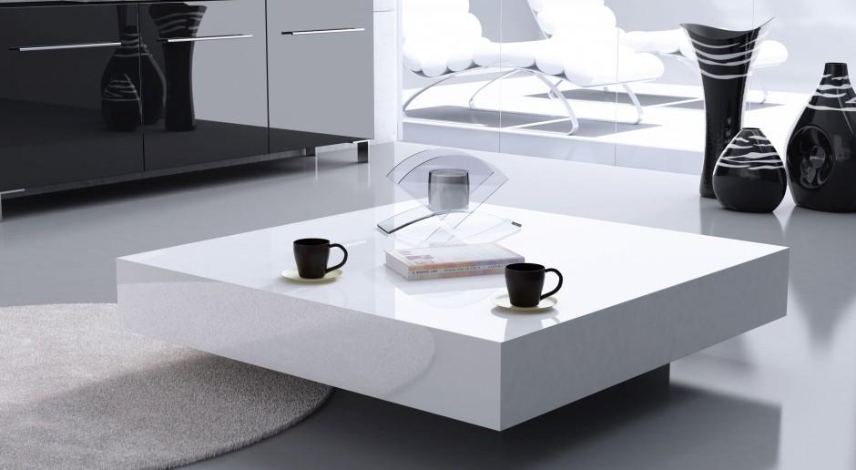 Minimalizm w szlachetnej odsłonie. Oto designerski stolik kawowy