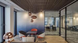Designerska przestrzeń biurowa w Hali Koszyki