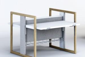 Zobacz biurko do pracy w trybie sit & stand od Tomasza Augustyniaka