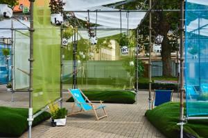Co można stworzyć z 370 metrów tkaniny? Nie tylko tapicerowane meble czy dekoracje okien