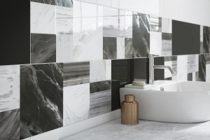 Najnowszy trend w aranżacji łazienek - duże, podłużne płytki