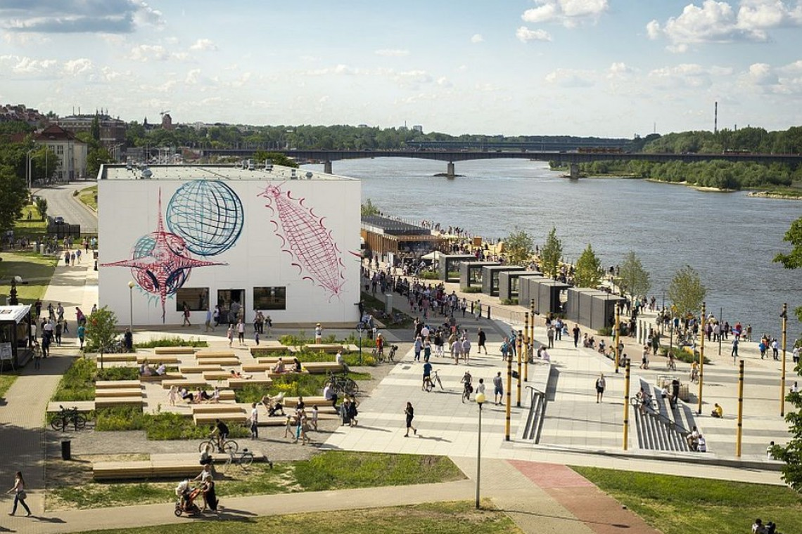 Kolejny etap warszawskich bulwarów, czyli nowa przestrzeń sportów miejskich
